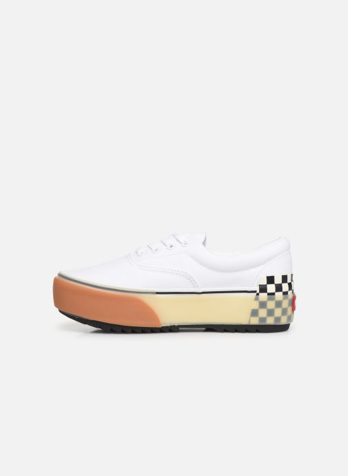 Trainers Vans Era Stacked White front view