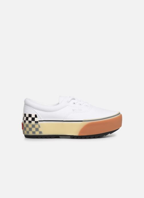 Trainers Vans Era Stacked White back view