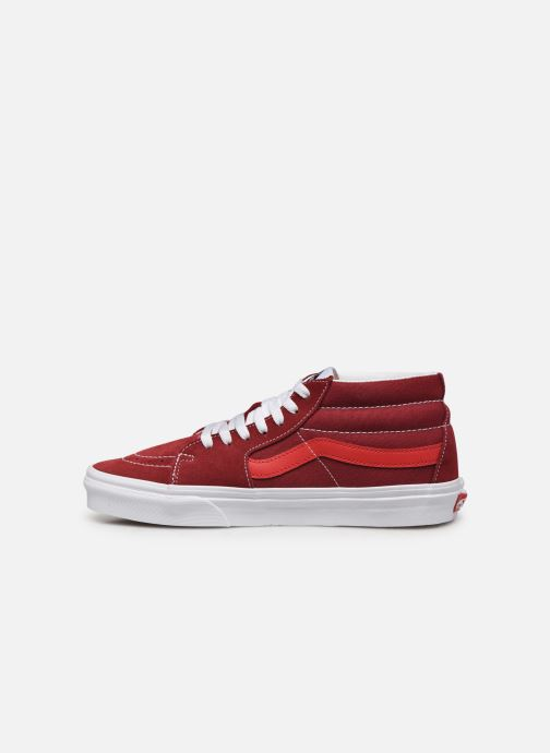 Trainers Vans SK8 Mid Red front view