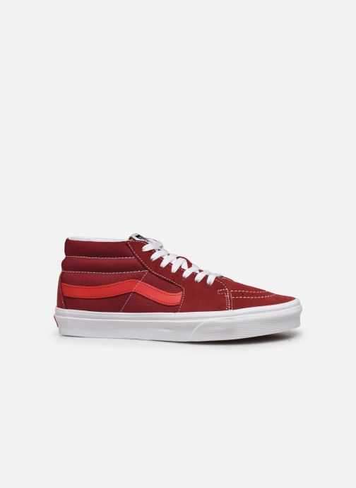 Trainers Vans SK8 Mid Red back view