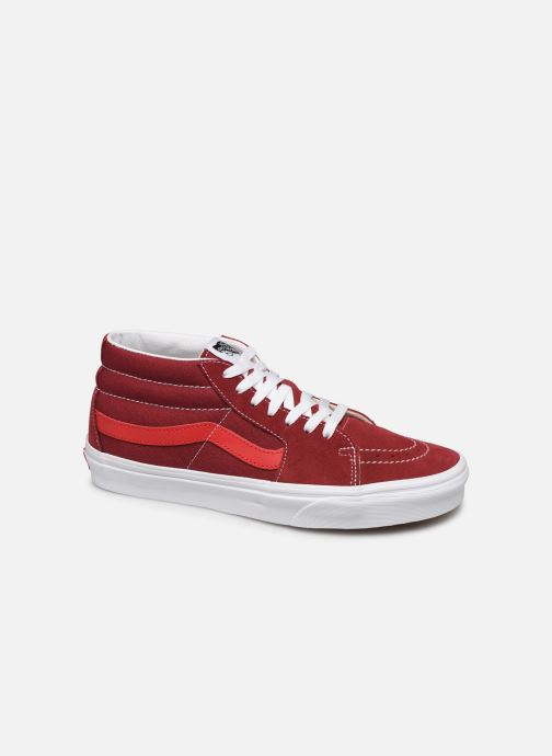 Trainers Vans SK8 Mid Red detailed view/ Pair view