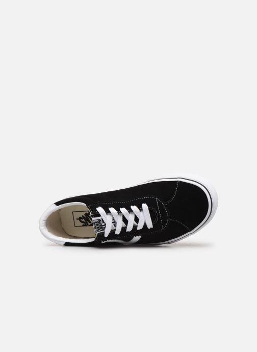 Sneakers Vans Vans Sport Zwart links