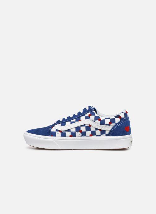 Sneaker Vans ComfyCush Old Skool W blau ansicht von vorne