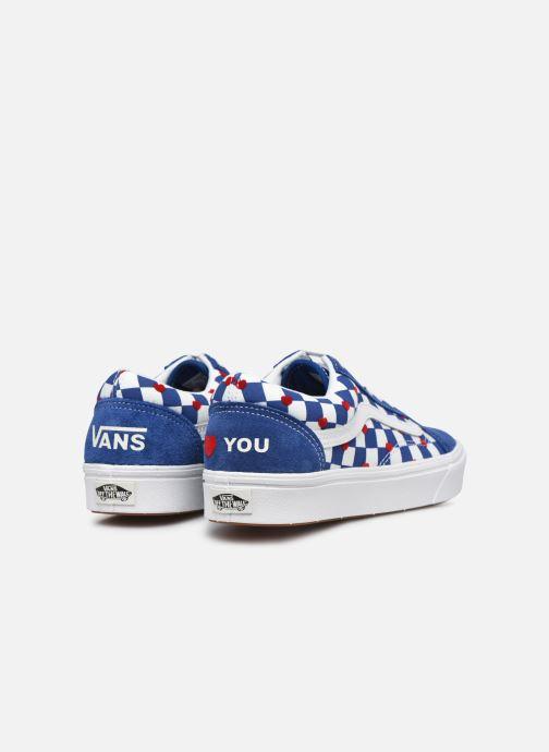 Sneaker Vans ComfyCush Old Skool W blau ansicht von rechts