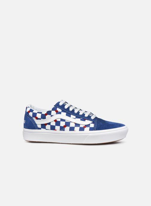 Sneaker Vans ComfyCush Old Skool W blau ansicht von hinten