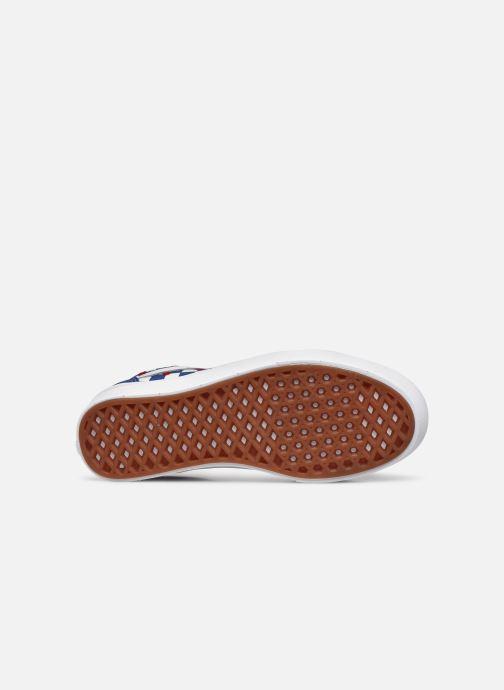 Sneaker Vans ComfyCush Old Skool W blau ansicht von oben