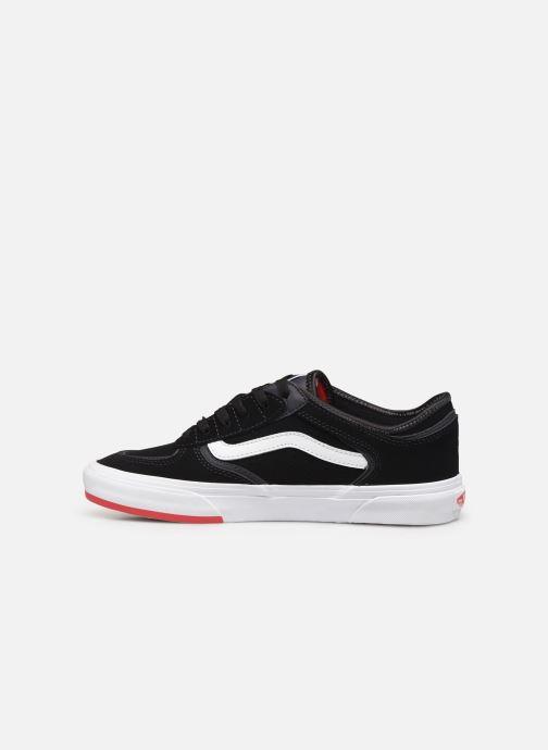 Sneaker Vans Rowley Classic schwarz ansicht von vorne