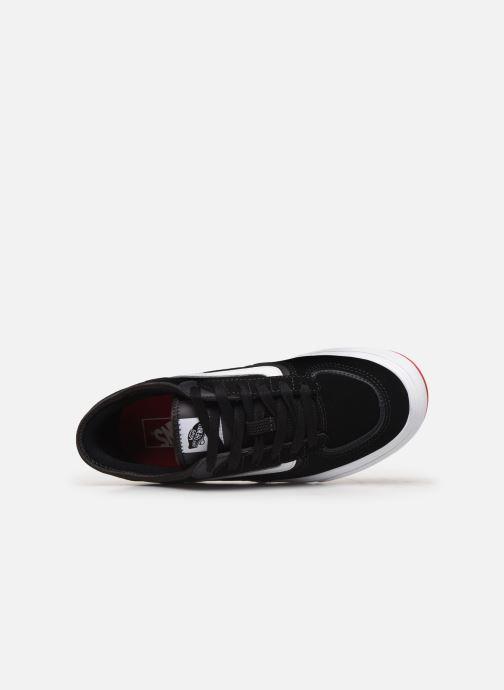 Sneaker Vans Rowley Classic schwarz ansicht von links
