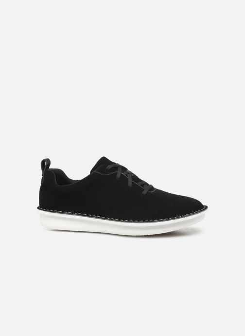 Lace-up shoes Cloudsteppers by Clarks Step Welt Free Black back view