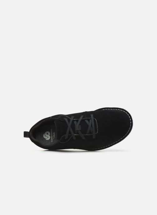 Lace-up shoes Cloudsteppers by Clarks Step Welt Free Black view from the left