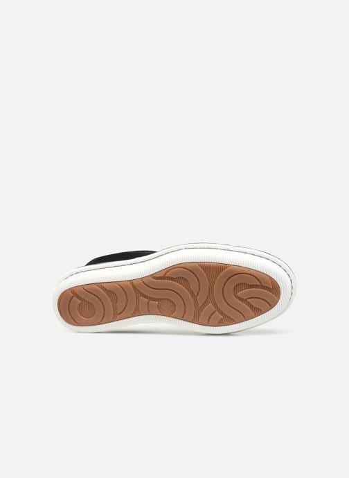 Chaussures à lacets Cloudsteppers by Clarks Step Welt Free Noir vue haut