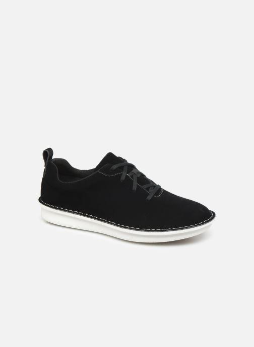Chaussures à lacets Cloudsteppers by Clarks Step Welt Free Noir vue détail/paire