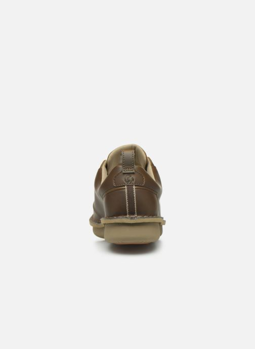 Lace-up shoes Cloudsteppers by Clarks Step Welt Free Brown view from the right