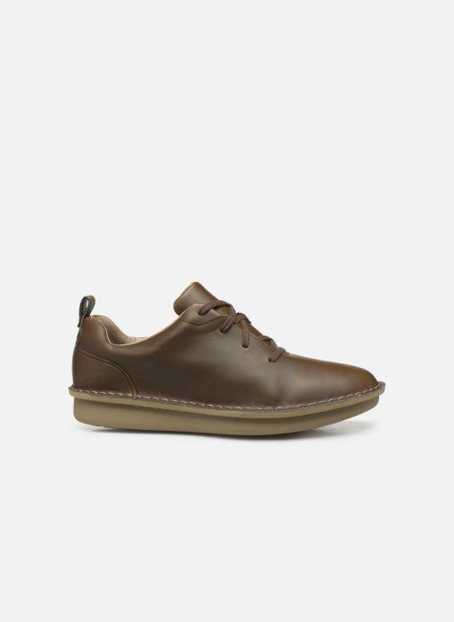 Chaussures à lacets Cloudsteppers by Clarks Step Welt Free Marron vue derrière