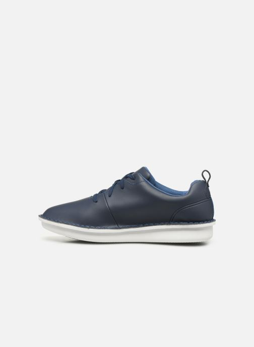 Chaussures à lacets Cloudsteppers by Clarks Step Welt Free Bleu vue face