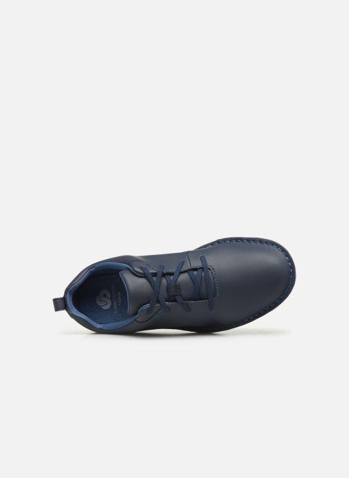 Chaussures à lacets Cloudsteppers by Clarks Step Welt Free Bleu vue gauche