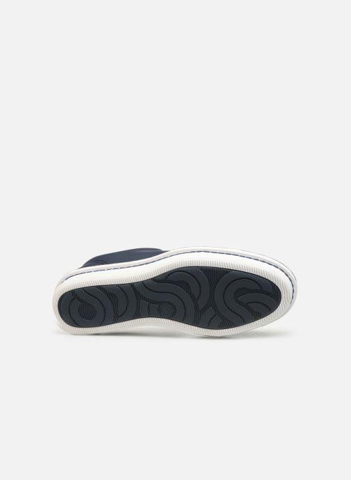 Chaussures à lacets Cloudsteppers by Clarks Step Welt Free Bleu vue haut