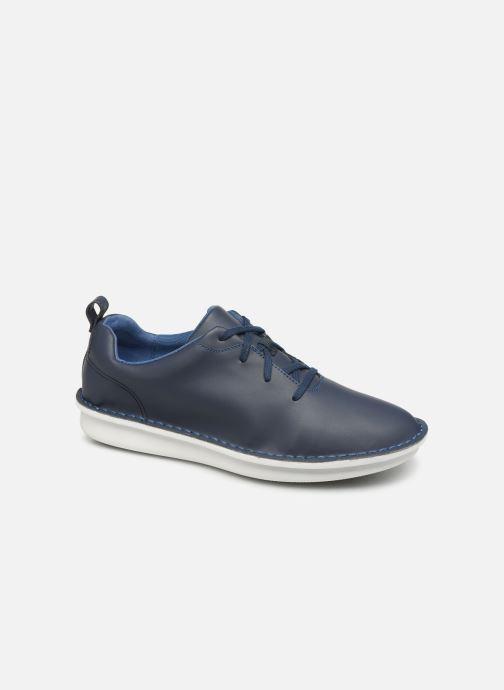 Chaussures à lacets Cloudsteppers by Clarks Step Welt Free Bleu vue détail/paire