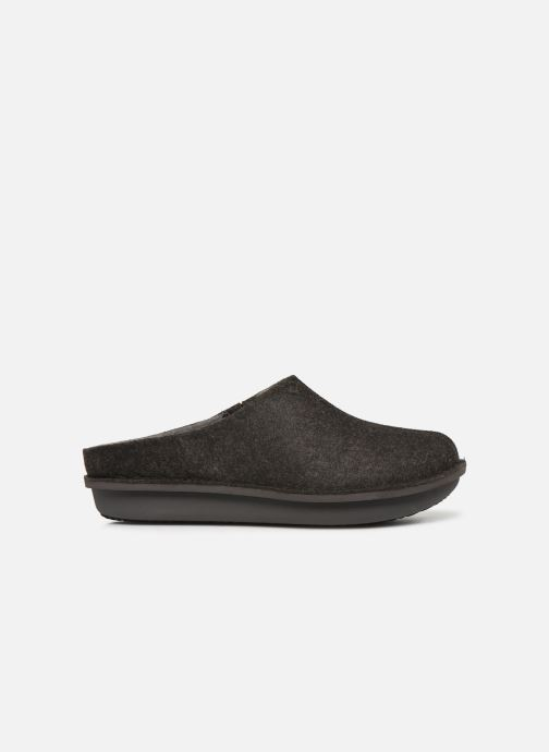 Slippers Cloudsteppers by Clarks Step Flow Clog Black back view