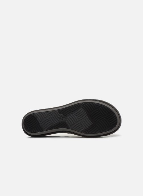Slippers Cloudsteppers by Clarks Step Flow Clog Black view from above