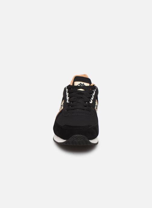 Baskets Kappa Curtis Noir vue portées chaussures