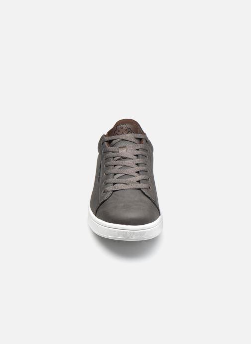 Baskets Kappa Tchouri Gris vue portées chaussures