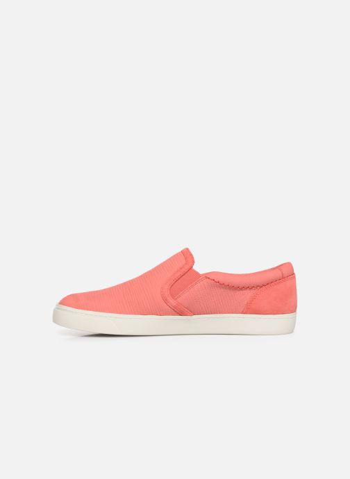 Sneakers Clarks Glove Puppet Pink se forfra