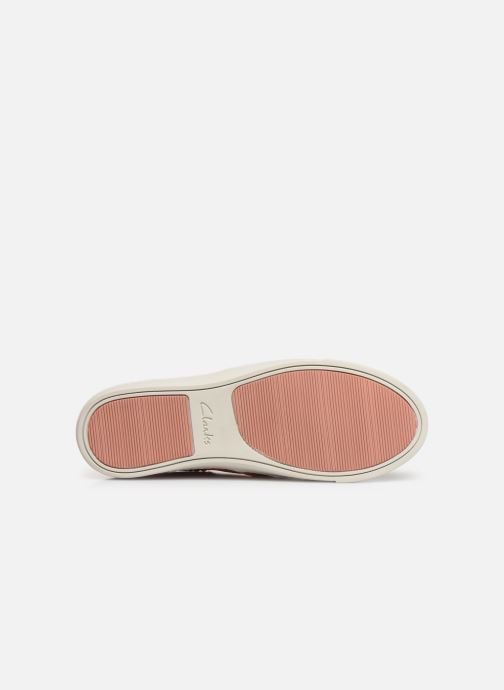 Trainers Clarks Glove Puppet Pink view from above