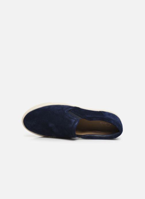 Sneaker Clarks Glove Puppet blau ansicht von links