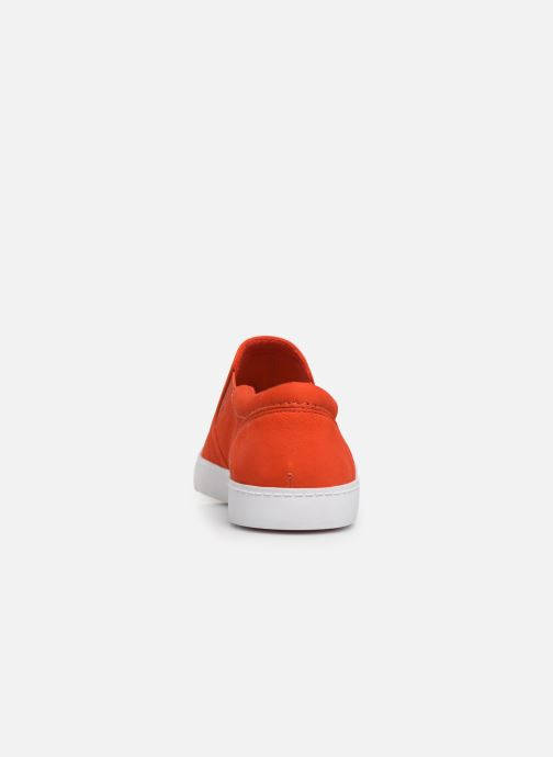 Trainers Clarks Glove Puppet Orange view from the right