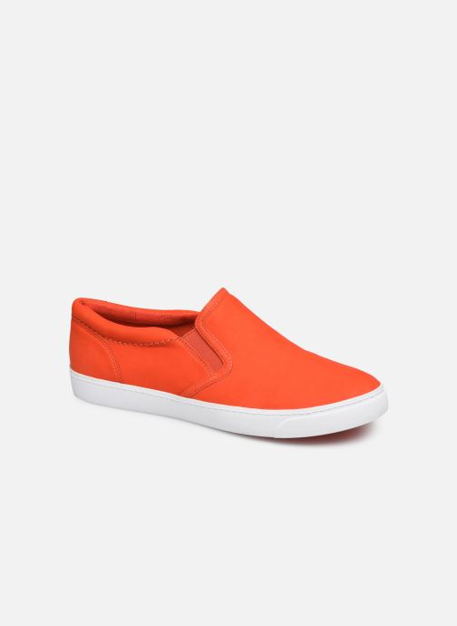 Trainers Clarks Glove Puppet Orange detailed view/ Pair view