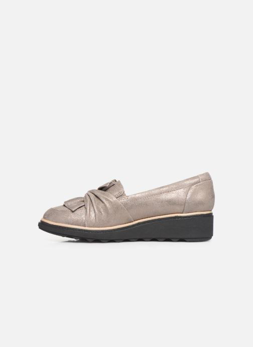 Loafers Clarks Sharon Dasher Beige front view