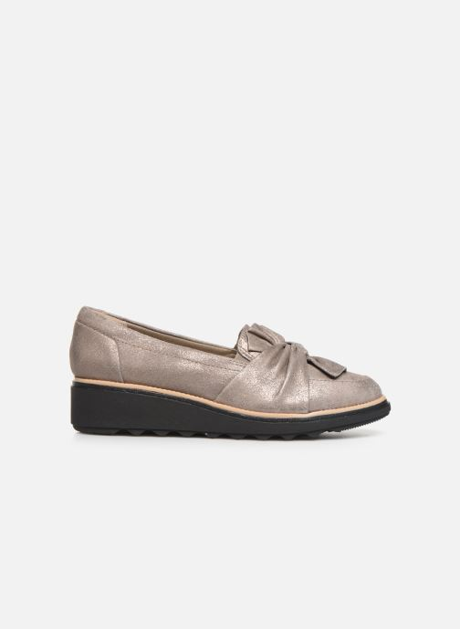 Loafers Clarks Sharon Dasher Beige back view