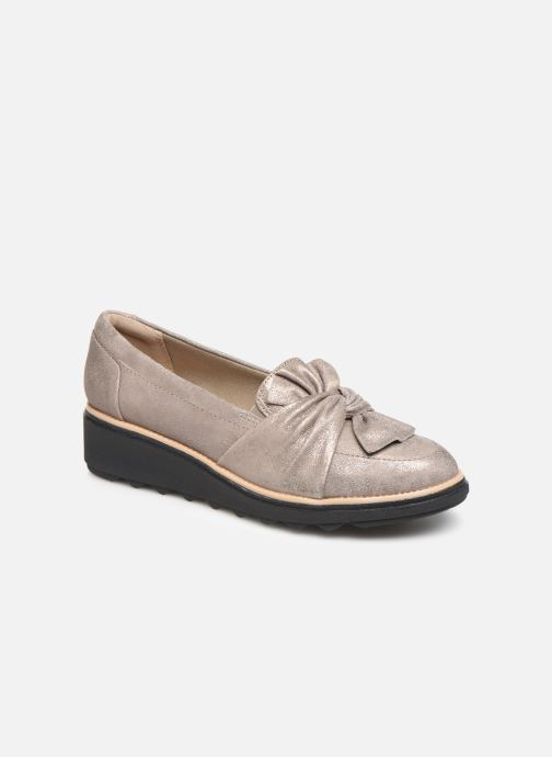 Loafers Clarks Sharon Dasher Beige detailed view/ Pair view