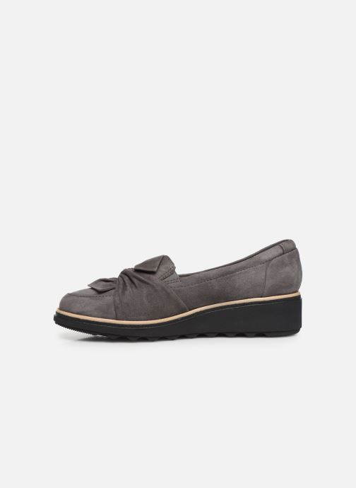 Loafers Clarks Sharon Dasher Grey front view