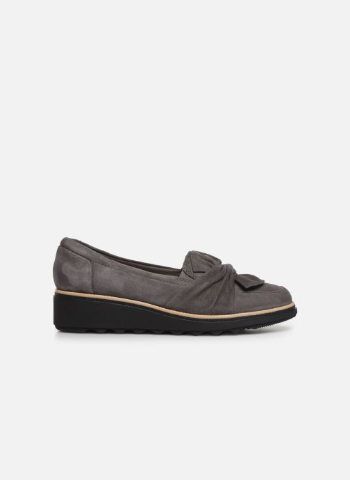 Loafers Clarks Sharon Dasher Grey back view