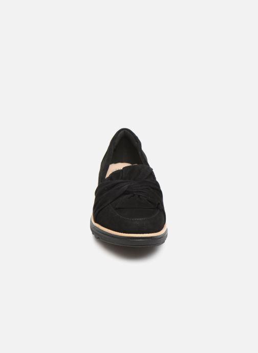 Mocassins Clarks Sharon Dasher Noir vue portées chaussures