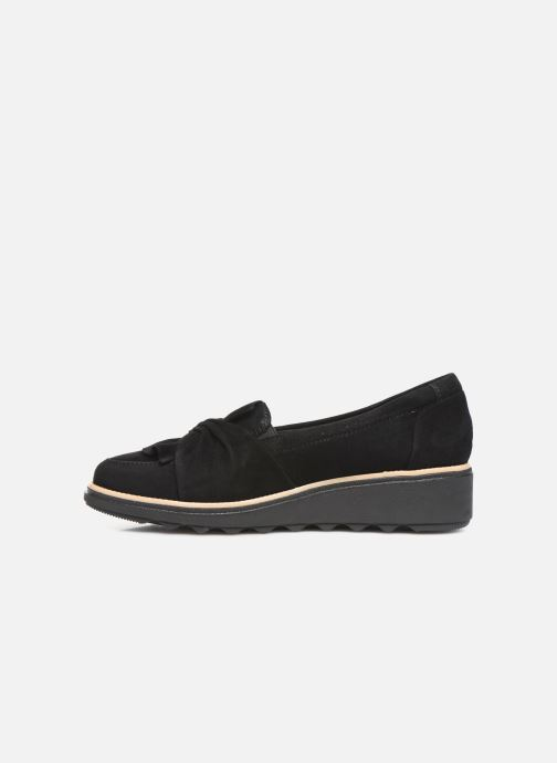 Loafers Clarks Sharon Dasher Black front view