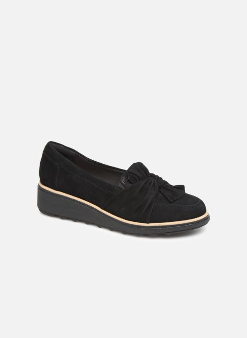 Loafers Clarks Sharon Dasher Black detailed view/ Pair view