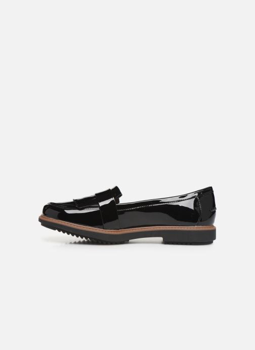 Mocassini Clarks Raisie Theresa Nero immagine frontale