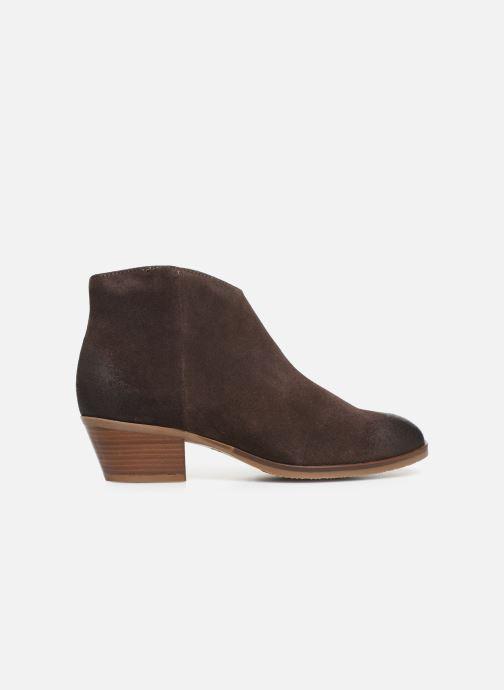 Boots en enkellaarsjes Clarks Mila Myth Bruin achterkant