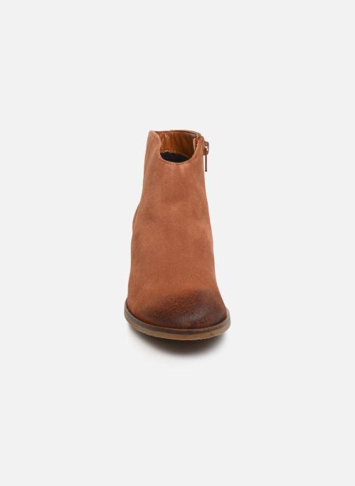 Stiefeletten & Boots Clarks Mila Myth braun schuhe getragen
