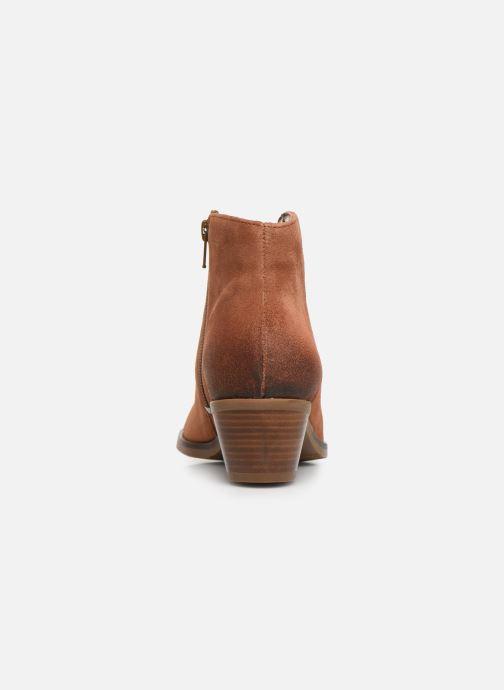 Stiefeletten & Boots Clarks Mila Myth braun ansicht von rechts