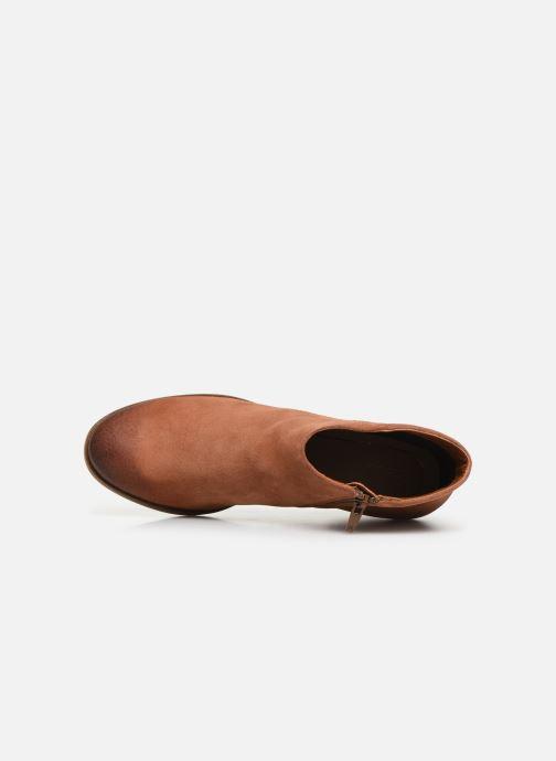 Boots en enkellaarsjes Clarks Mila Myth Bruin links