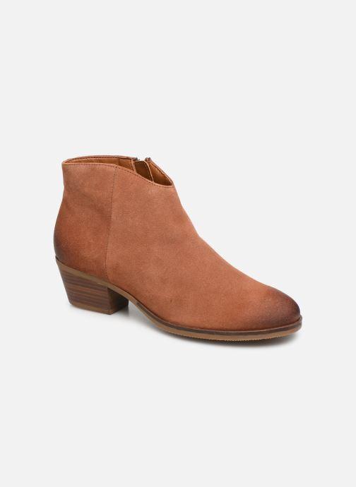 Boots en enkellaarsjes Clarks Mila Myth Bruin detail