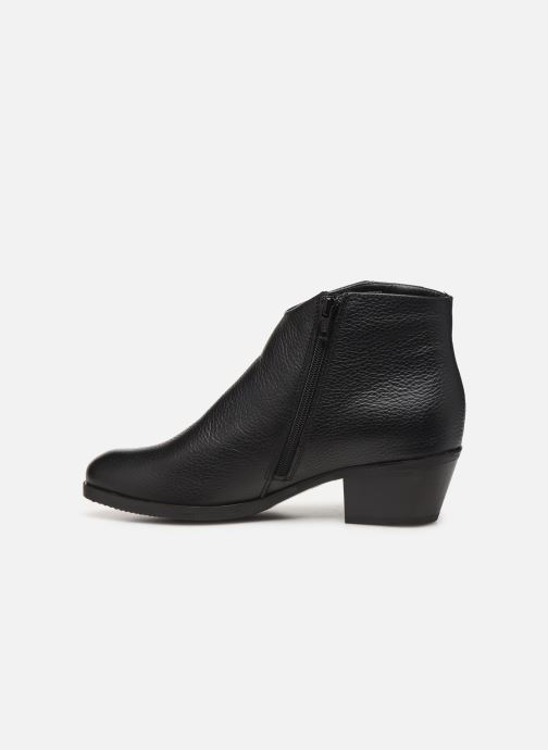 Boots en enkellaarsjes Clarks Mila Myth Zwart voorkant