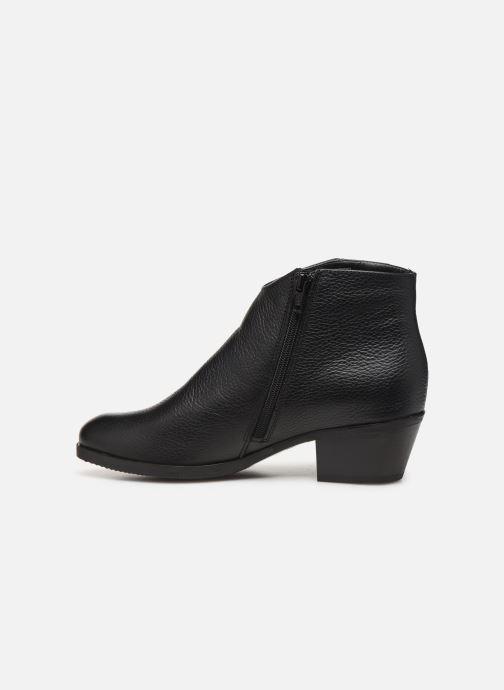 Bottines et boots Clarks Mila Myth Noir vue face