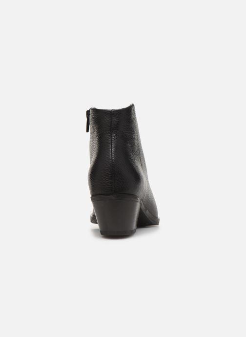 Bottines et boots Clarks Mila Myth Noir vue droite