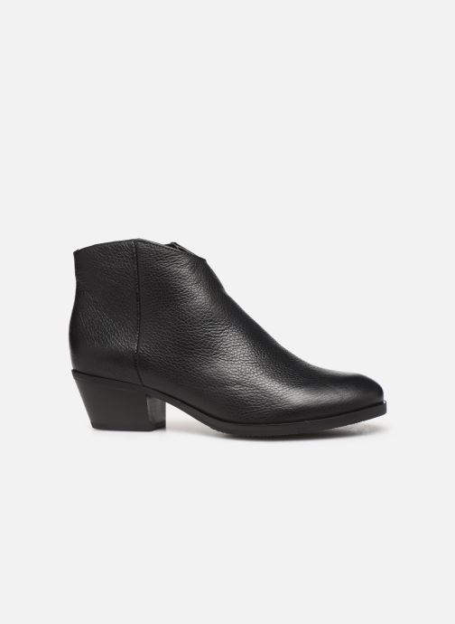 Boots en enkellaarsjes Clarks Mila Myth Zwart achterkant