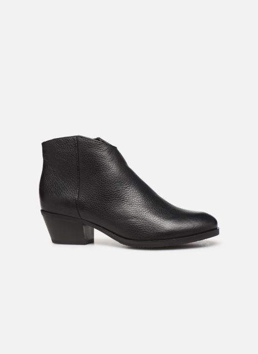 Bottines et boots Clarks Mila Myth Noir vue derrière